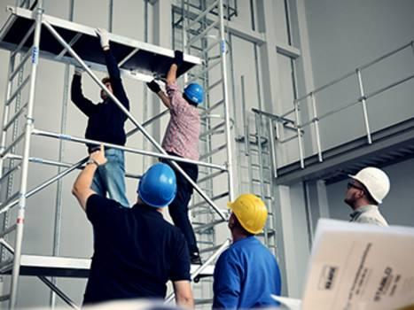 Anwenderschulungen und Produktschulungen für Leitern, Tritte und FahrGerüste