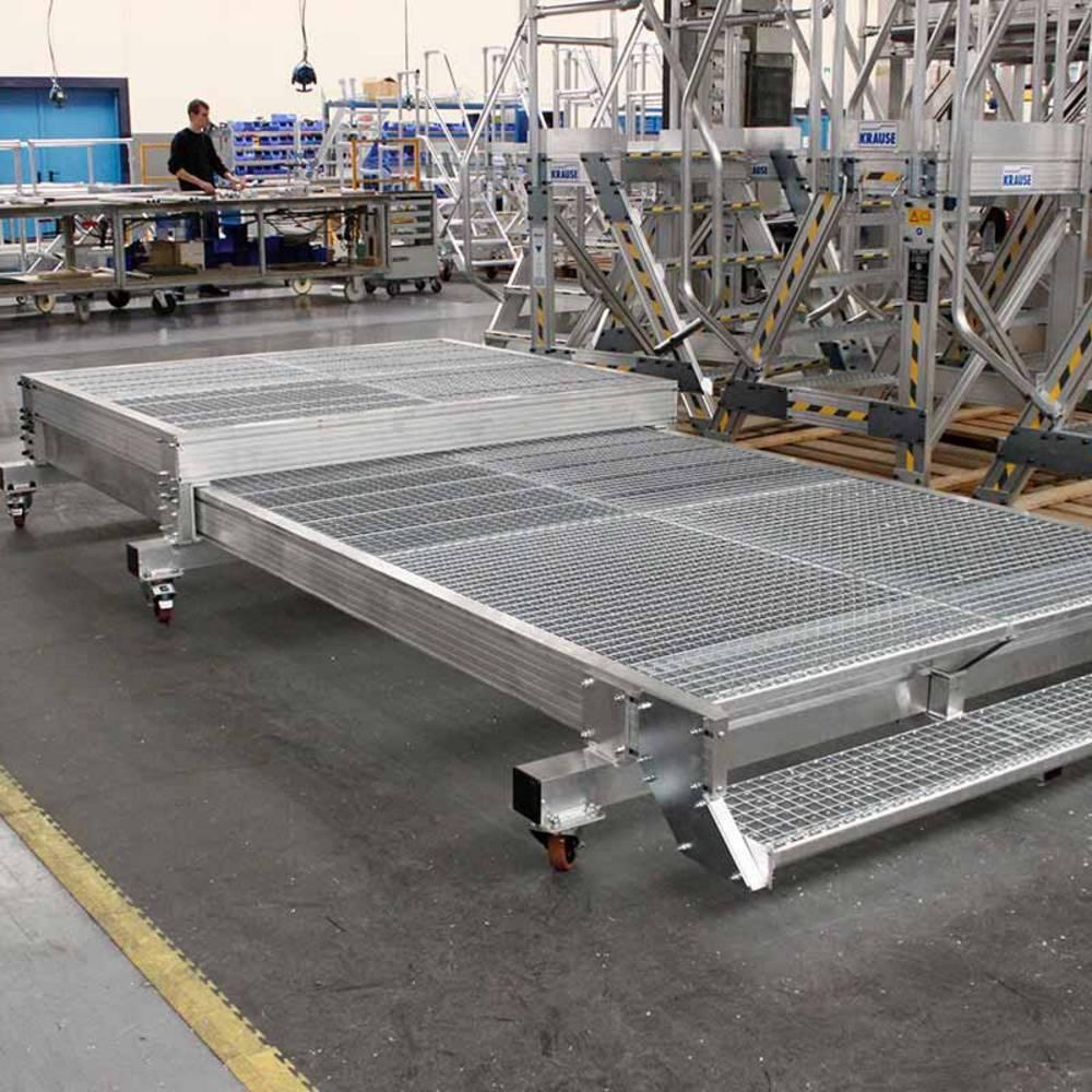 Jezdna wysuwana platforma robocza bez barierek