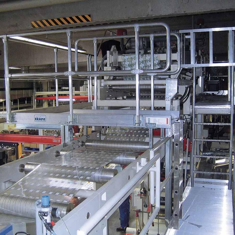 Platforma robocza z wejściem po drabinie
