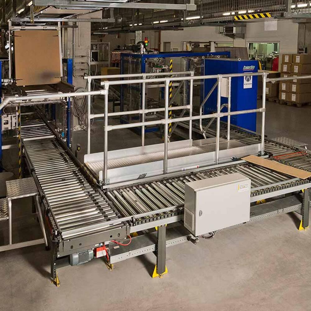 Pomosty przejściowe KRAUSE dostosowane do wymagań produkcyjnych przedsiębiorstwa