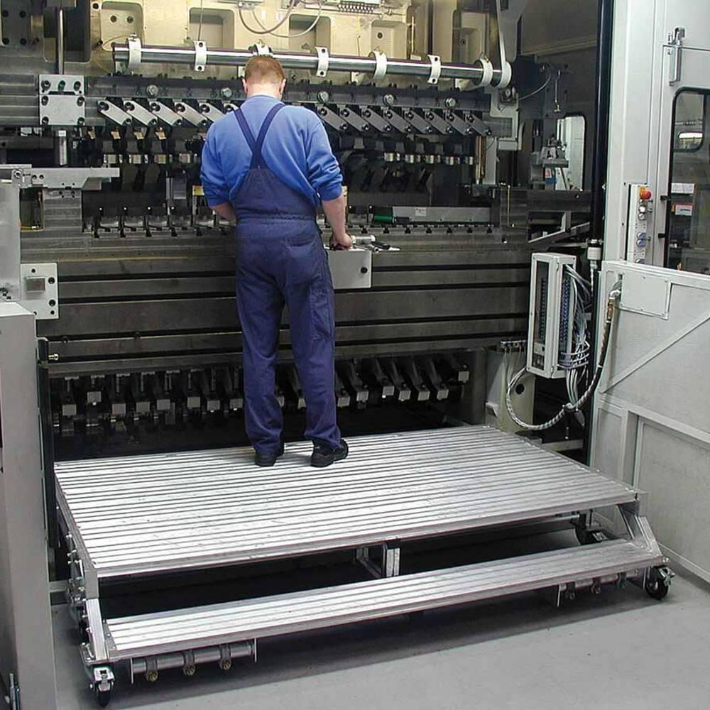 Przykład zastosowania jezdnej platformy roboczej bez barierek