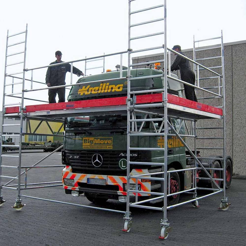 Zastosowanie konstrukcji specjalnej przy pracach naprawczych pojazdów użytkowych