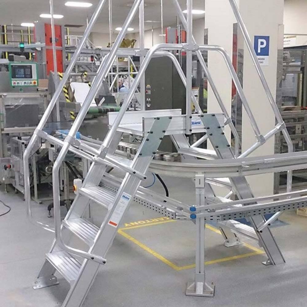 Pomost przejściowy w zakładzie produkcyjnym