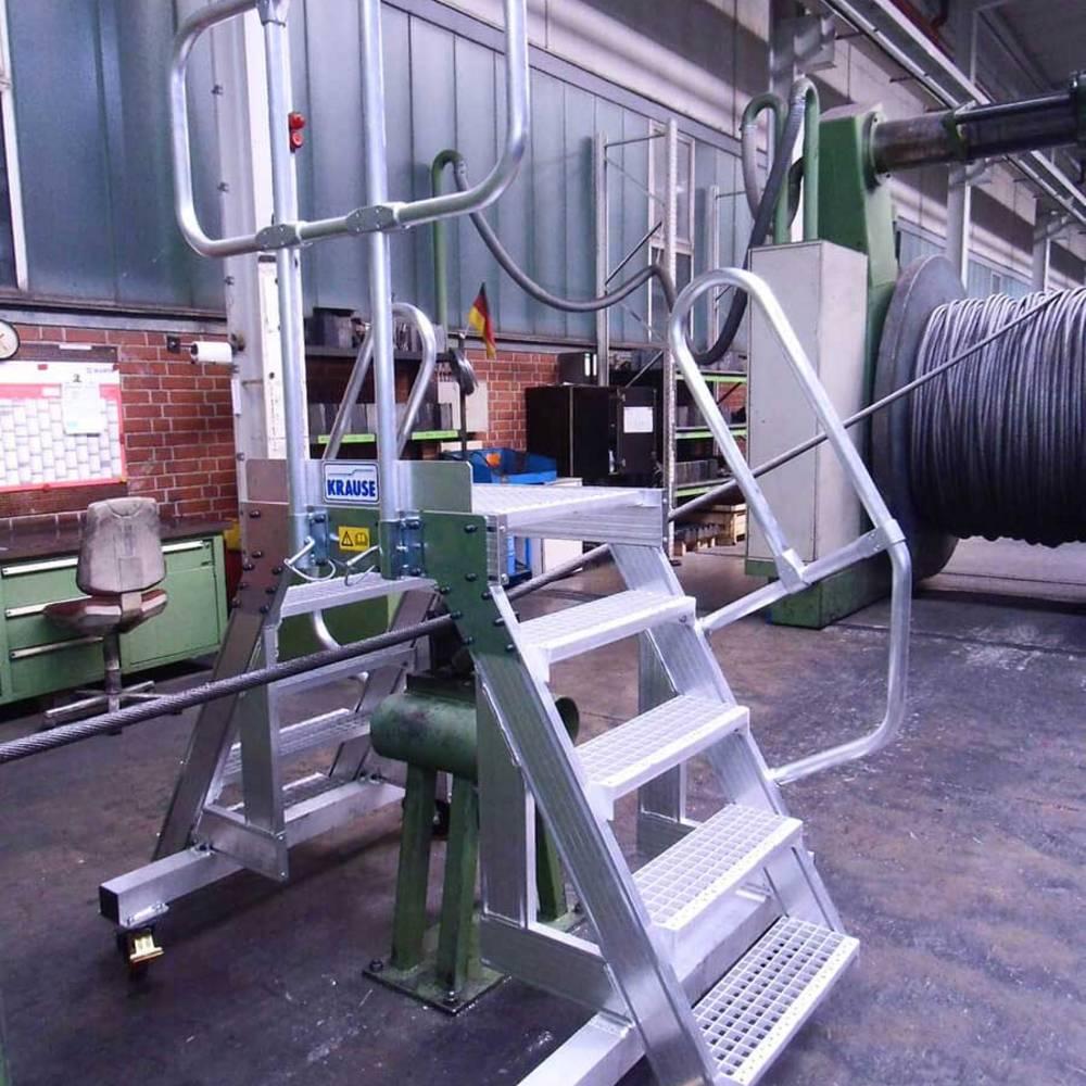 Zwiększone bezpieczeństwo pracy dzięki zastosowaniu aluminiowego pomostu przejściowego
