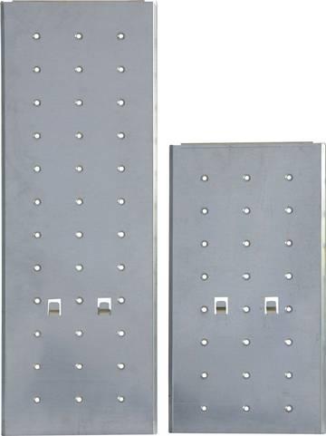 Do zawieszenia na uniwersalnej drabinie przegubowej ze szczeblami MultiMatic, do zastosowania jako platforma robocza oraz półka.