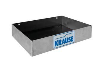 Praktyczna półka mocowana na zatrzaski, do bezpiecznego przechowywania narzędzi lub akcesoriów. <br> Można ją zamontować w dowolnym miejscu, np. na poręczy.<br> Duże motylkowe nakrętki ułatwiają szybki montaż.<br> Gumowana nakładka zapobiega przesuwaniu sie zawartości.<br>