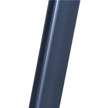 Drabina wolnostojąca ze stopniami SePro S, anodowana - anodowane, niebrudzące rąk i łatwe w czyszczeniu podłużnice