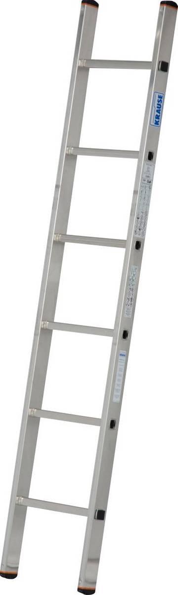Lekka drabina przystawna aluminiowa o uniwersalnym zastosowaniu do różnego rodzaju prac na wysokości.