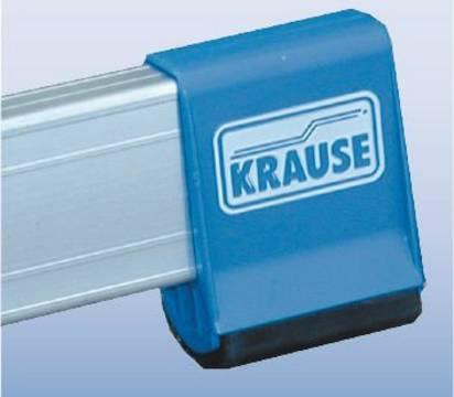 Drabina dwustronna przegubowa ze szczeblami - antypoślizgowe stopki stabilizatora (SafetyCap)