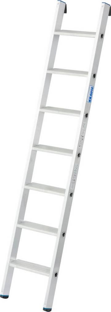 Drabina aluminiowa przystawna o uniwersalnym zastosowaniu, zapewnia użytkownikowi komfortową pozycję oraz bezpieczeństwo wykonywanych nad podłożem prac.