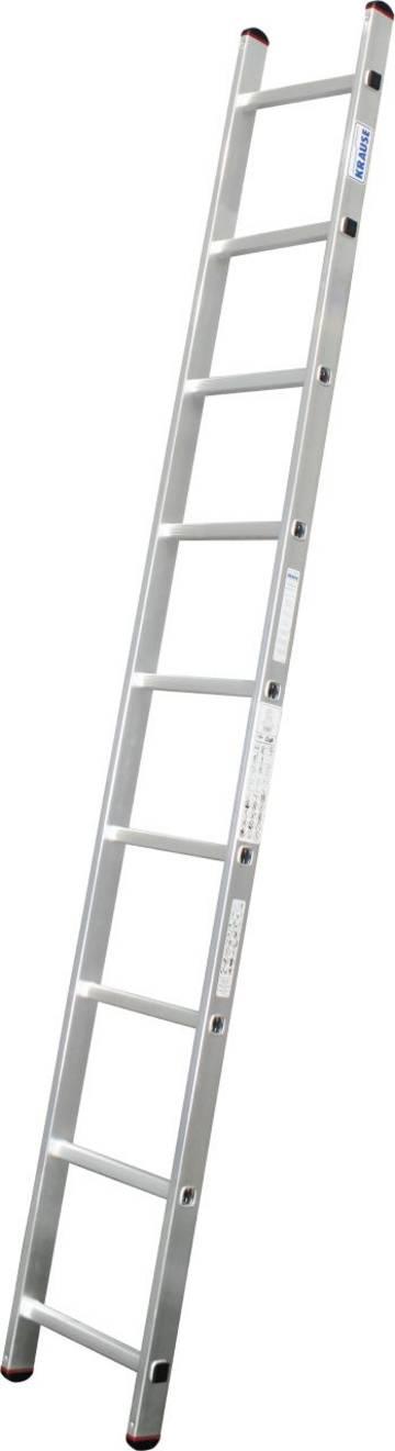 Praktyczna aluminiowa drabina przystawna do prostych prac nad podłożem.