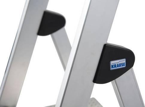Drabina wolnostojąca Safety - obejmujące podłużnice przeguby ze specjalnego tworzywa sztucznego(4CS) zapewniające stabilne połączenie