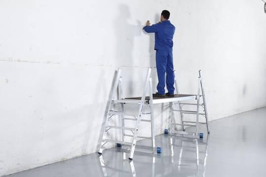 Przykład zastosowania schodków Profi