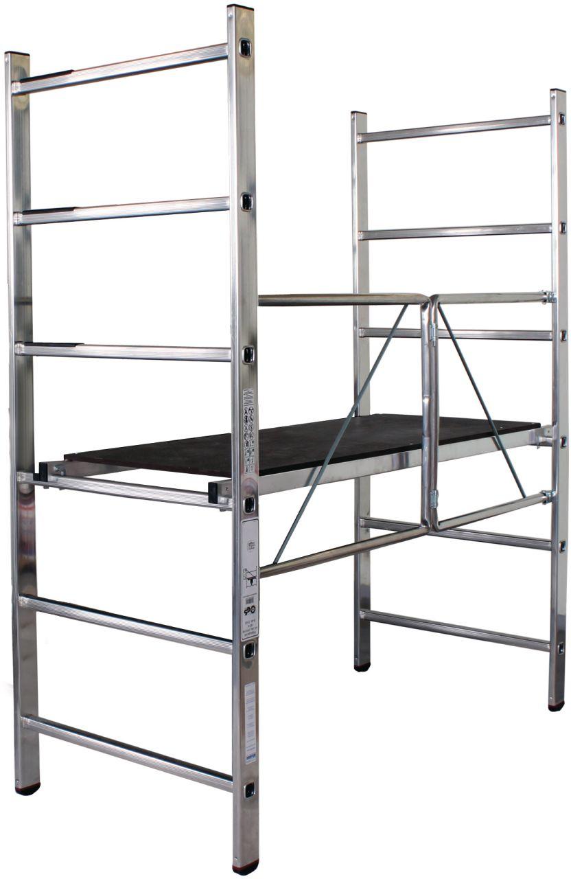Rusztowanie składane -kompaktowe rusztowanie składane o maksymalnej wysokości roboczej ok. 2,8 m