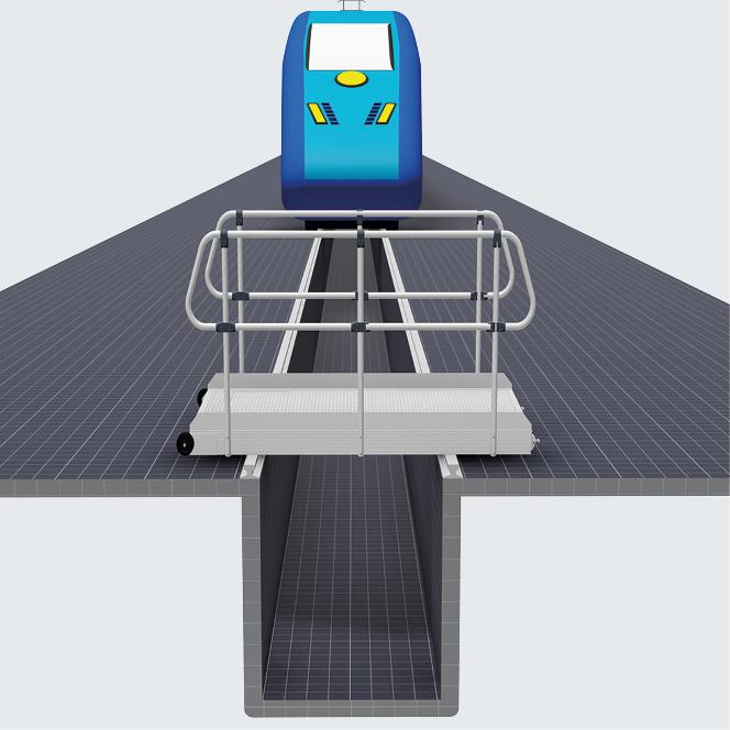 Opcje wykonania jezdnych przejść nad torowiskiem do obsługi pojazdów szynowych i użytkowych