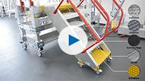 Platforma robocza KRAUSE z elektryczną regulacją wysokości